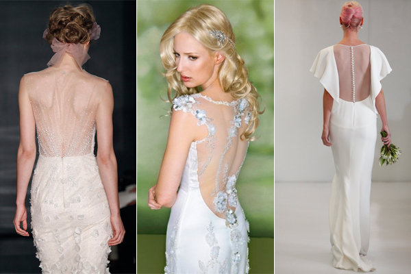 illusion wedding dress backs