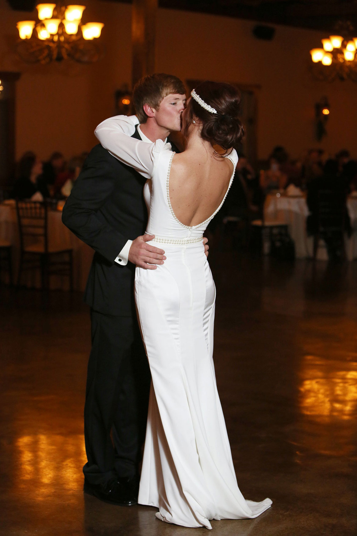 body con wedding dress