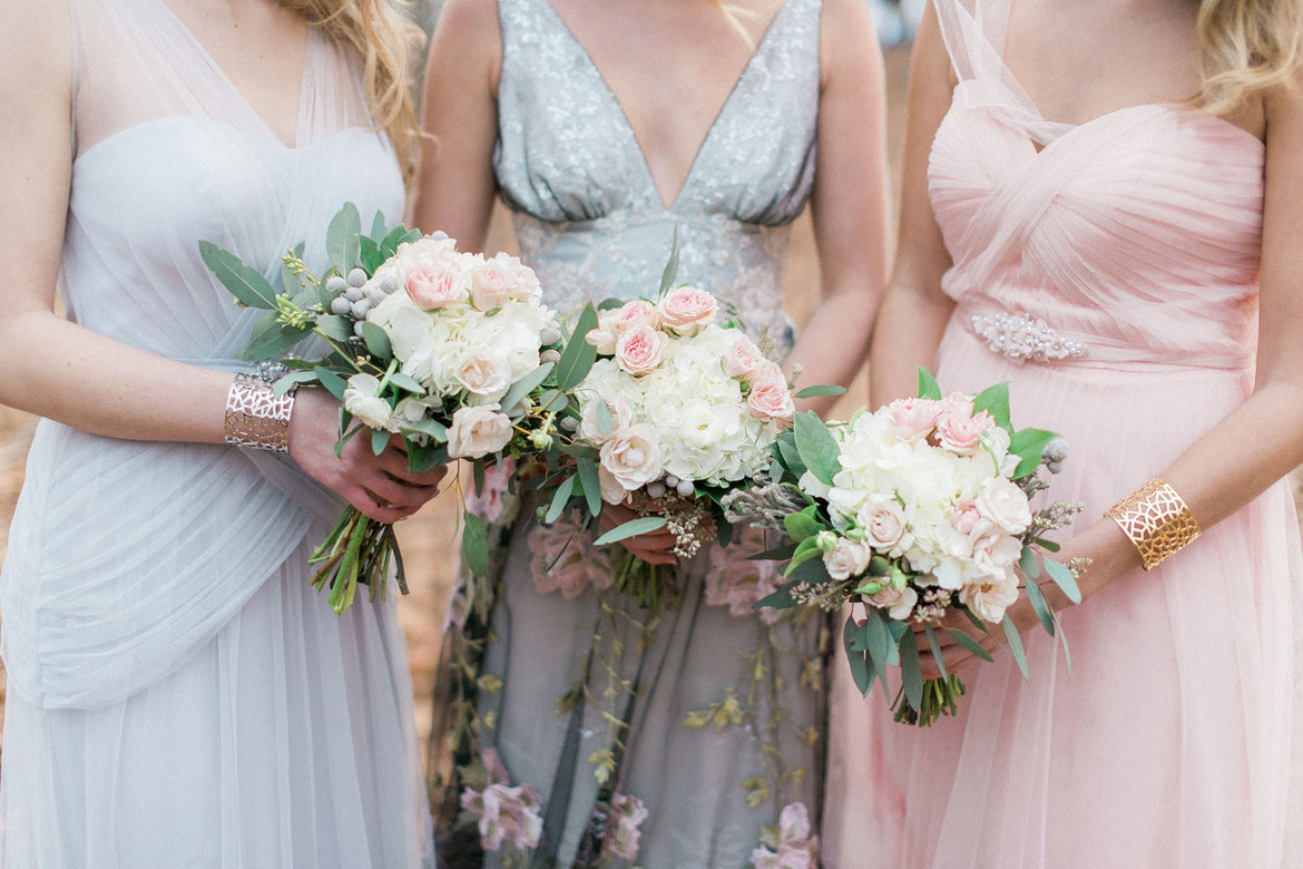 dove grey gown