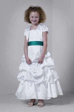 davids bridal flower girl