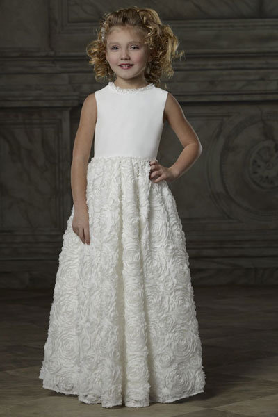 forever yours flower girl dress