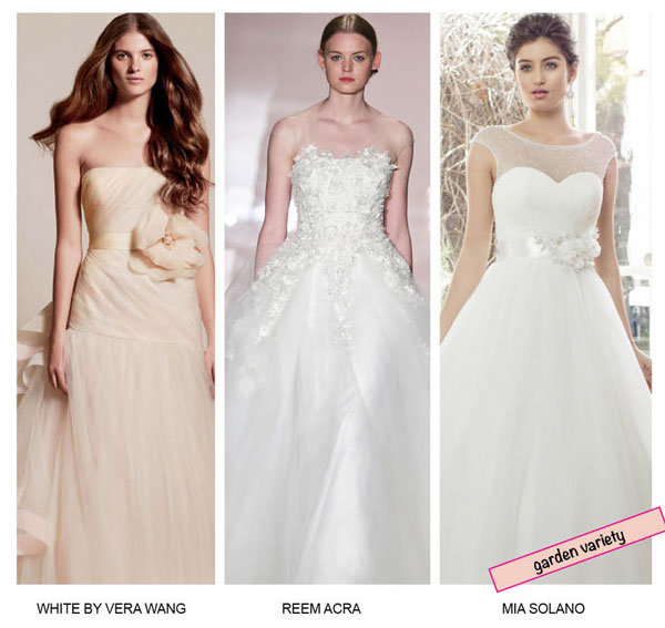 Garden Gorgeous: Floral-Embellished Gowns | BridalGuide