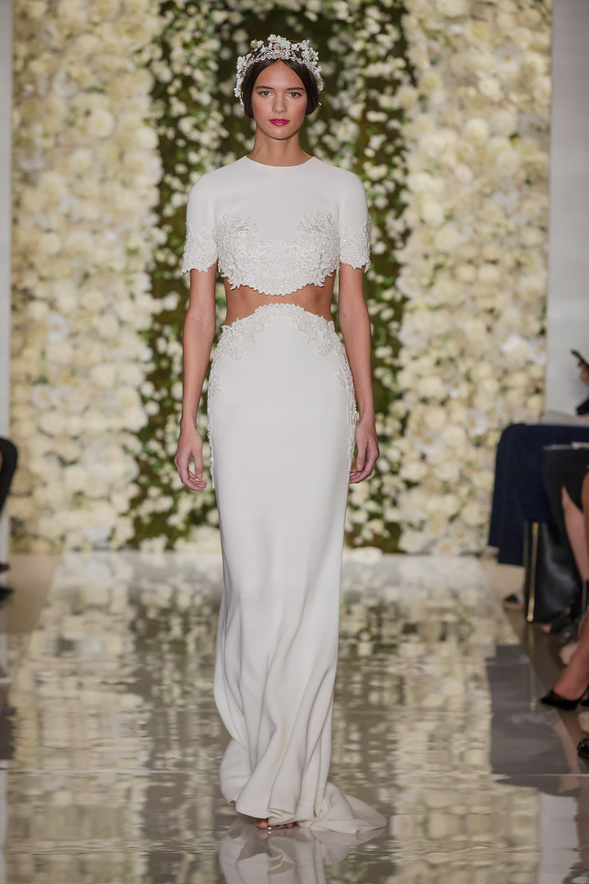 2015 Fall Bridesmaid Dresses reem acra wedding gown