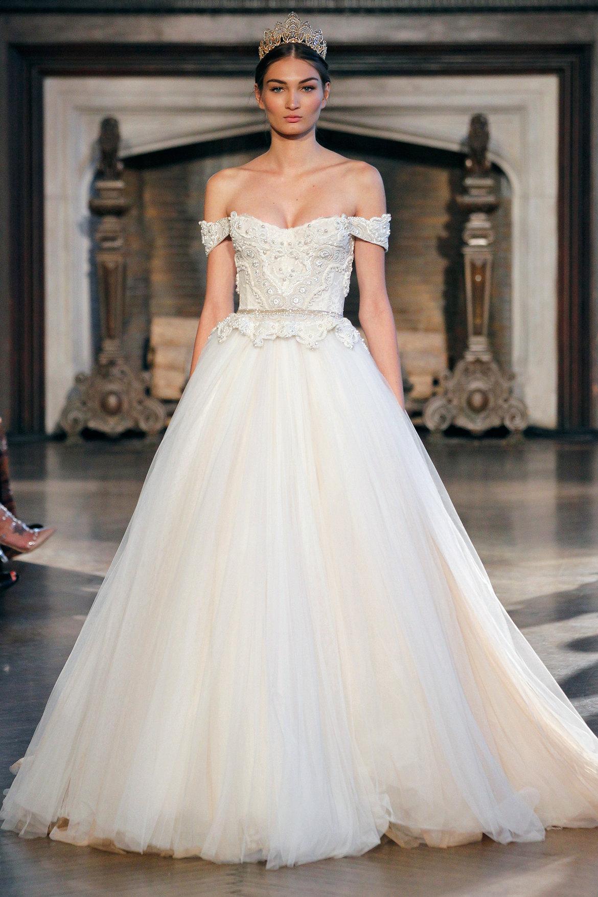 wedding gown trends fall wedding dress inbal dror wedding gown
