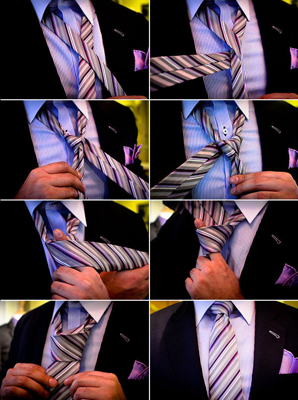 how to tie windsor knot