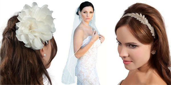 veils and hairpieces