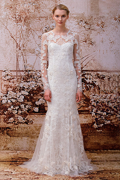 Get the look kim kardashians wedding gown bridalguide see more gorgeous styles in our wedding gown gallery junglespirit Image collections