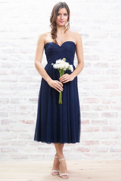 paper crown bridesmaid dresses