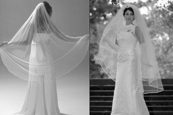 Long And Flowy Veils