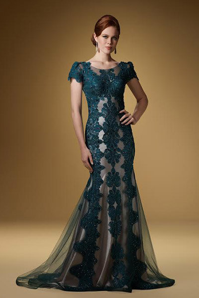 he Most Flattering Mother-of-the-Bride Dresses - rina di montella dress
