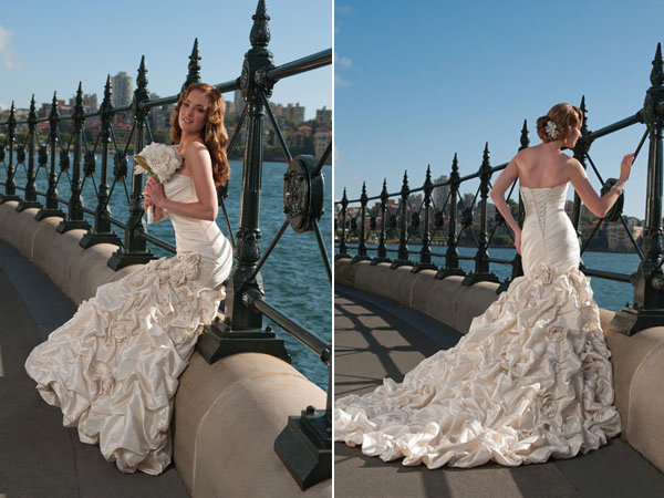 sophia tolli wedding gown