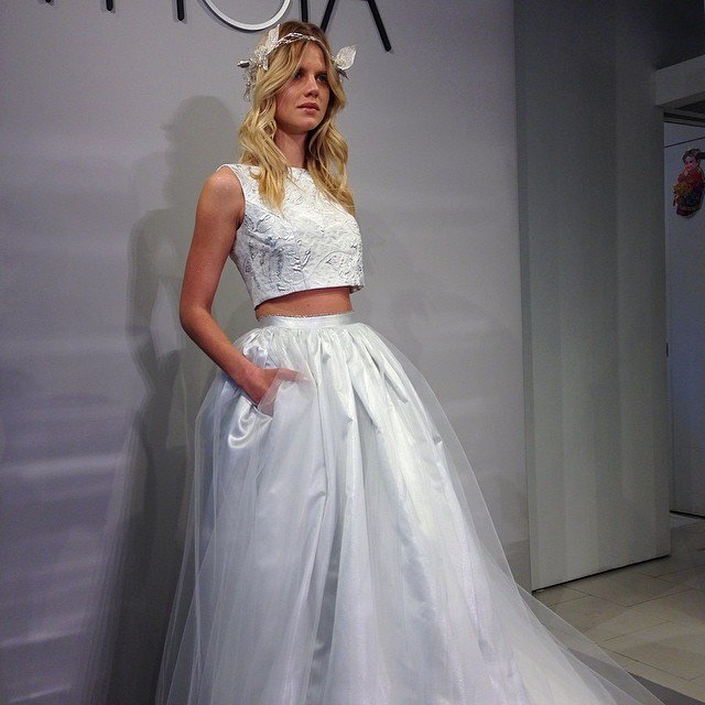 Theia Wedding Gown: Bridal Runway Shows: 4/10 Recap
