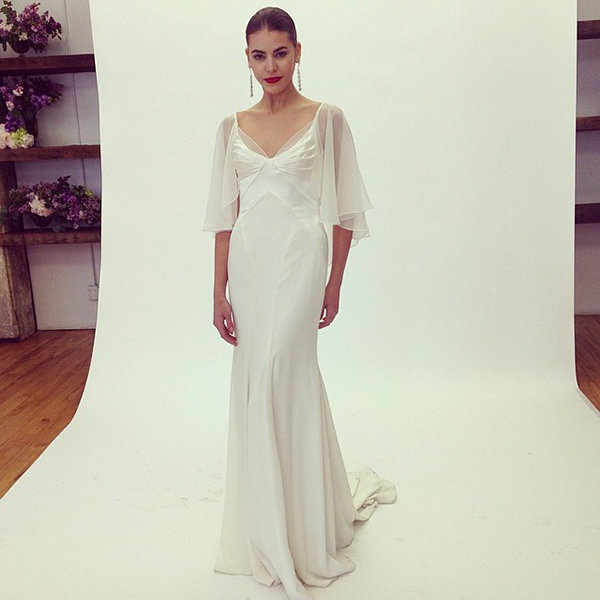 truly zac posen wedding gown