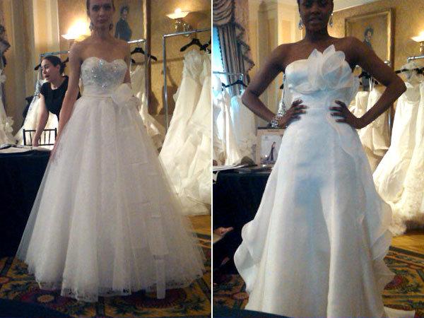 Wedding Gowns New York: New York Bridal Runway Shows: 4/14 Recap
