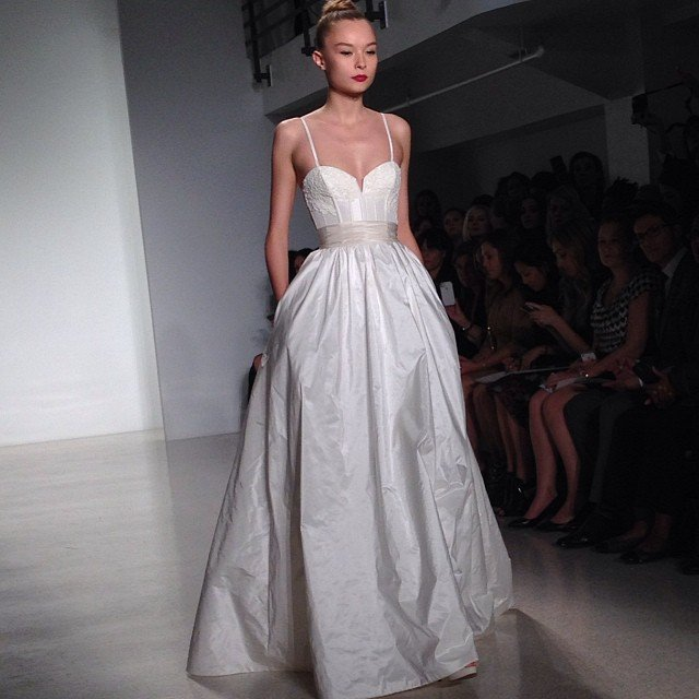 Amsale Wedding Dress: Bridal Runway Shows: 10/12 Recap