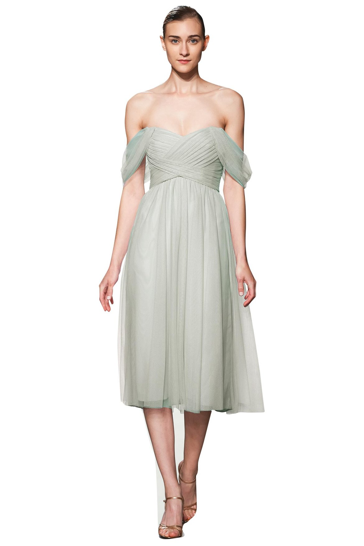 amsale bridesmaid dress