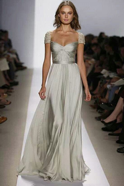 metallic reem acra dress
