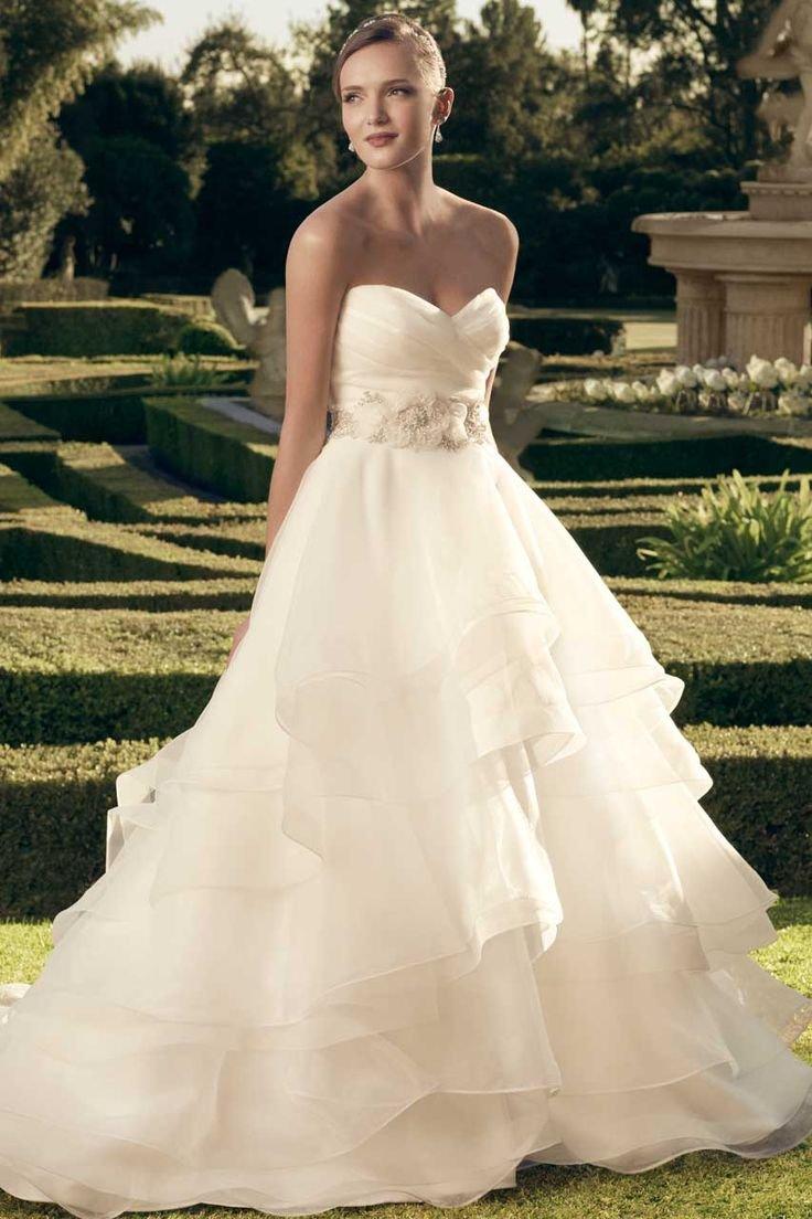 The 25 most popular wedding gowns of 2014 bridalguide casablanca bridal wedding dress 2174 junglespirit Image collections