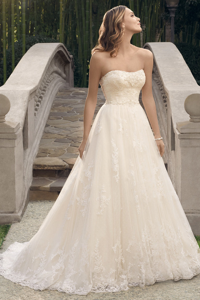 The 25 most popular wedding gowns of 2014 bridalguide casablanca bridal style 2170 junglespirit Image collections