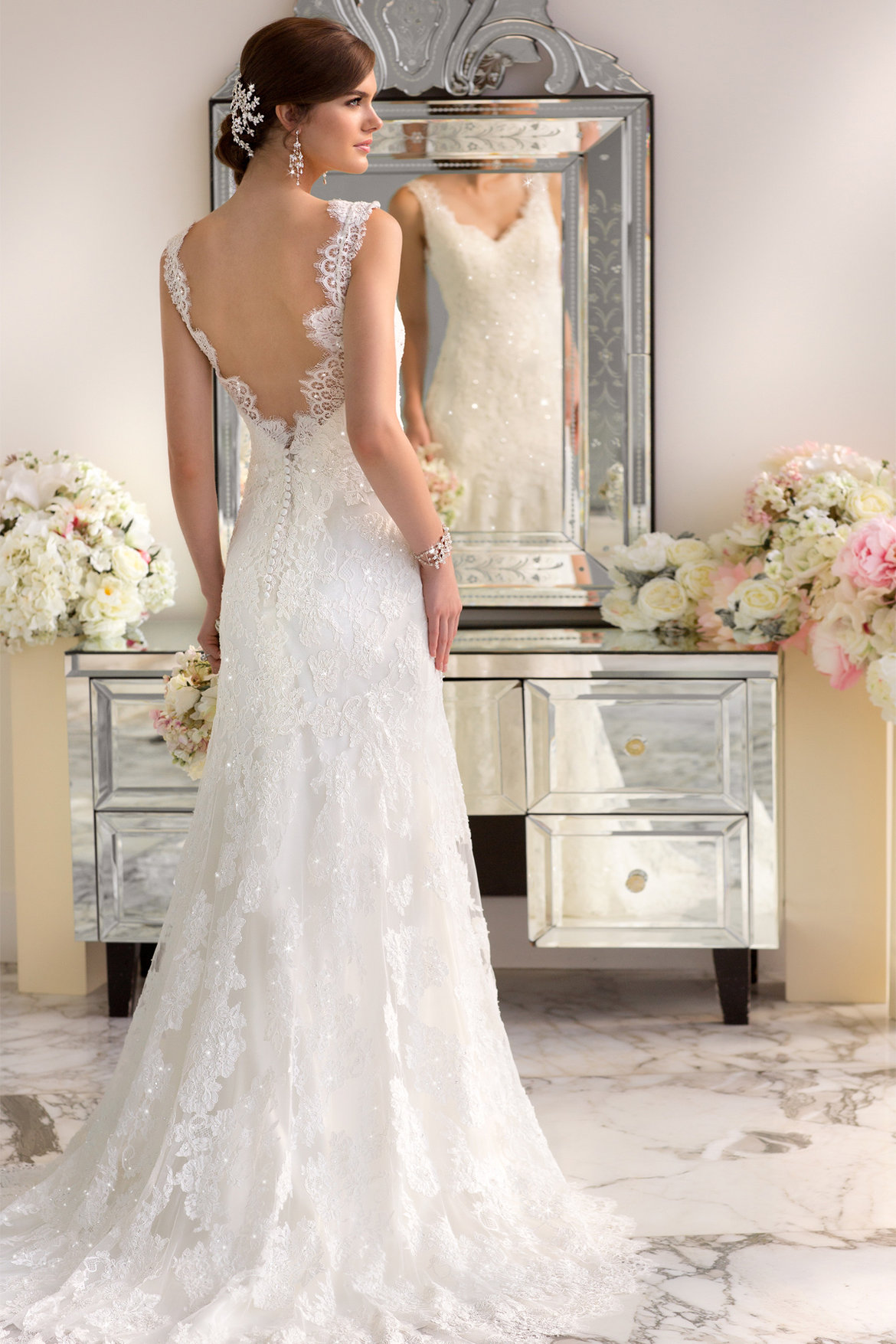 The 25 most popular wedding gowns of 2014 bridalguide 20 essense of australia style d1639 junglespirit Images