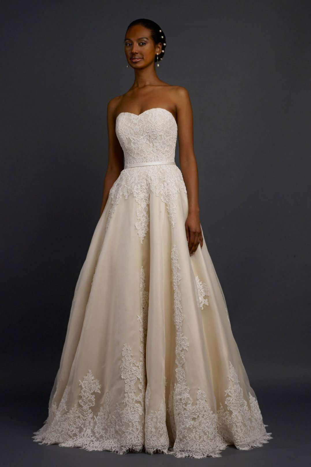 The 25 most popular wedding gowns of 2014 bridalguide robert bullock wedding dress tansy junglespirit Gallery