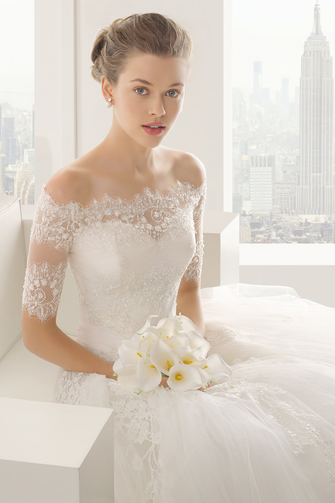 The 25 most popular wedding gowns of 2014 bridalguide rosa clara wedding dress sheila junglespirit Images