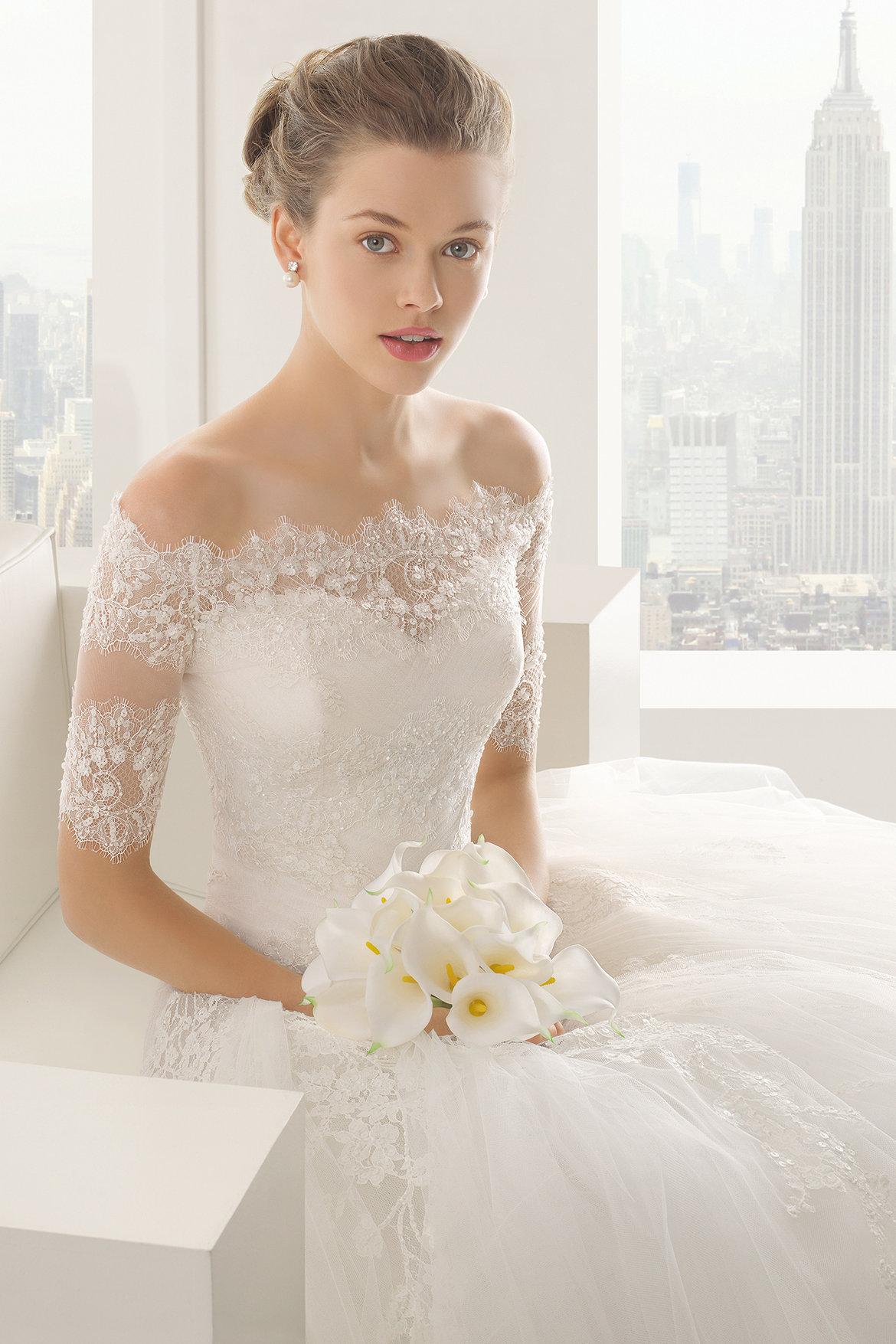 The 25 most popular wedding gowns of 2014 bridalguide for Wedding dress rosa clara