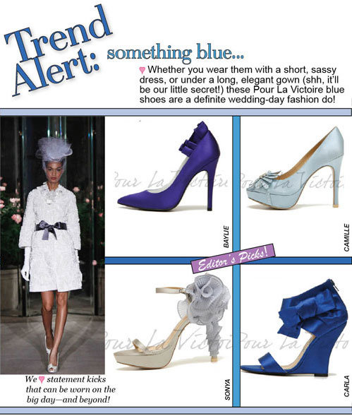 something blue...whether you wear them with a short