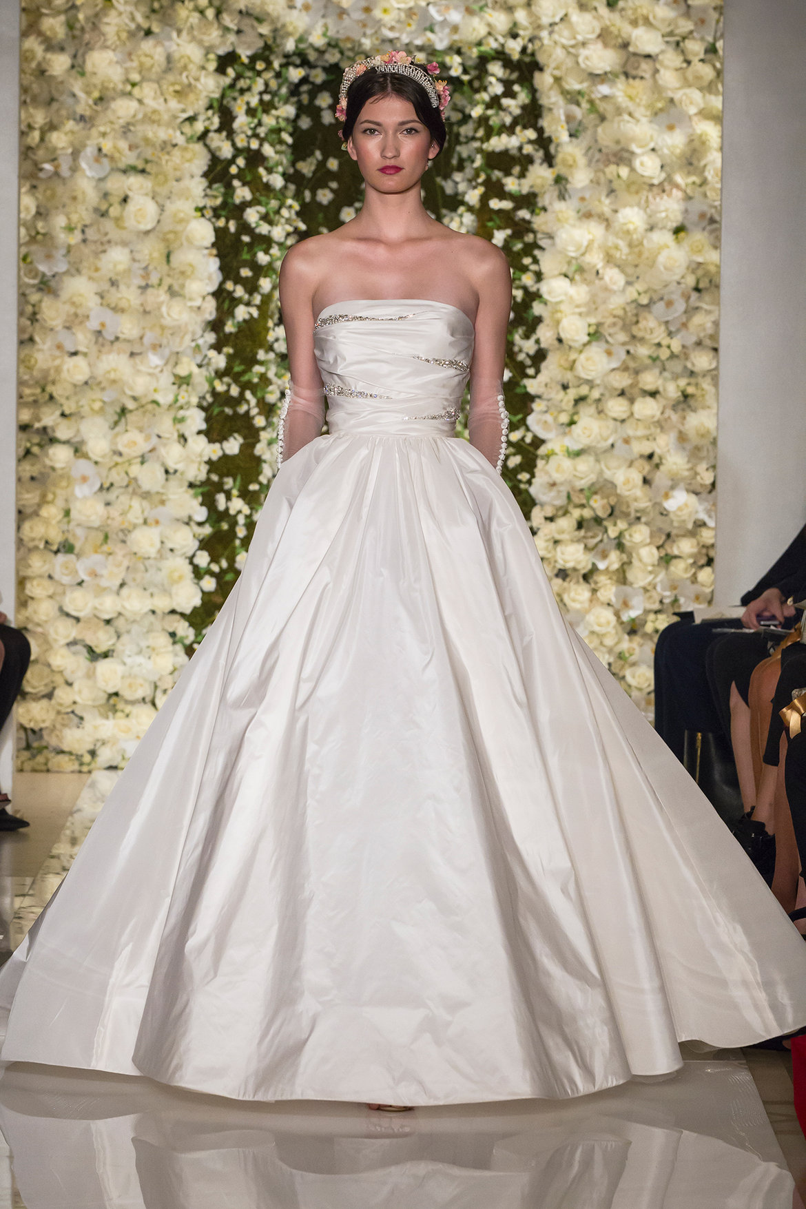 The 25 most popular wedding gowns of 2015 bridalguide see more reem acra dresses in our gown gallery junglespirit Images