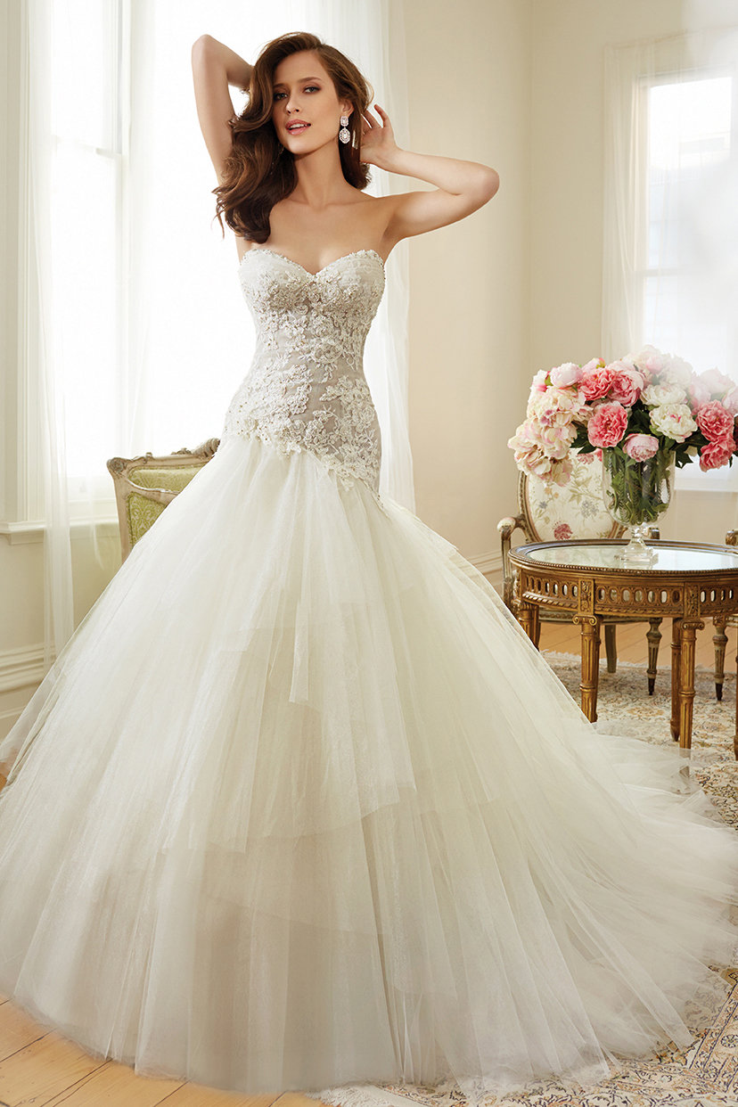 top wedding gowns most popular wedding dresses See more Sophia Tolli for Mon Cheri dresses in our gown gallery