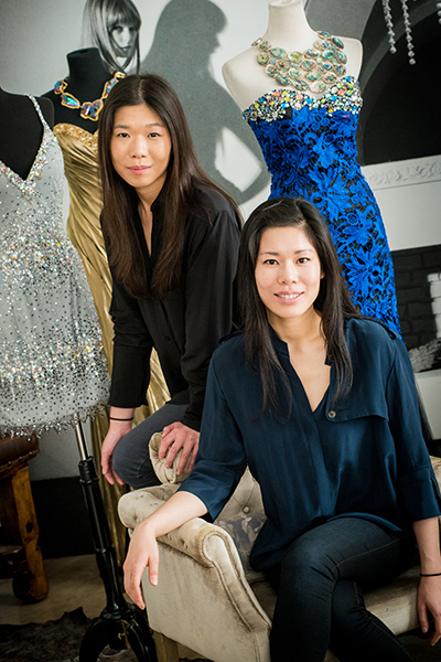valerie and stephanie chin val stefani designers