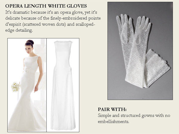 opera length white gloves