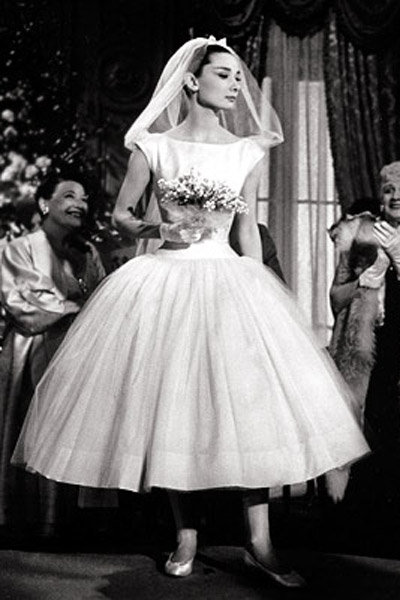 funny face audrey hepburn wedding
