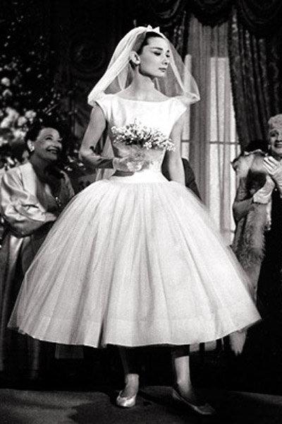 Funny Face Audrey Hepburn Wedding