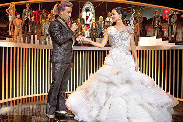 hunger games katniss wedding dress
