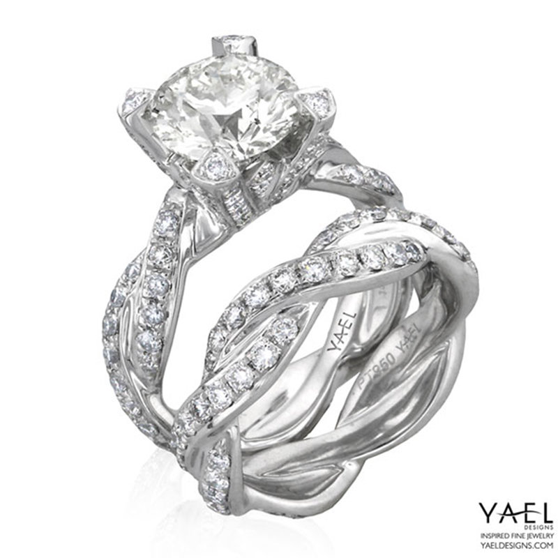 yael twisted wedding rings