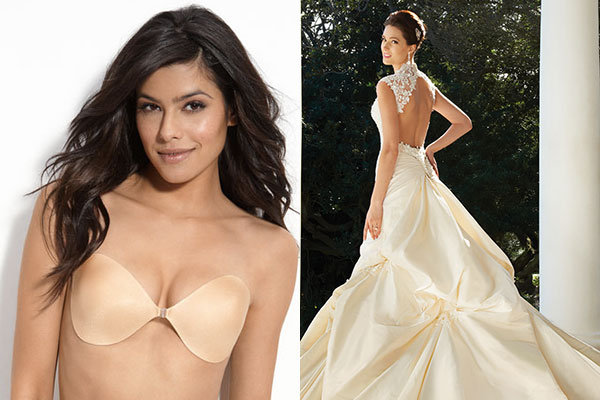 What to wear under your gown bridalguide for What kind of undergarments for wedding dress