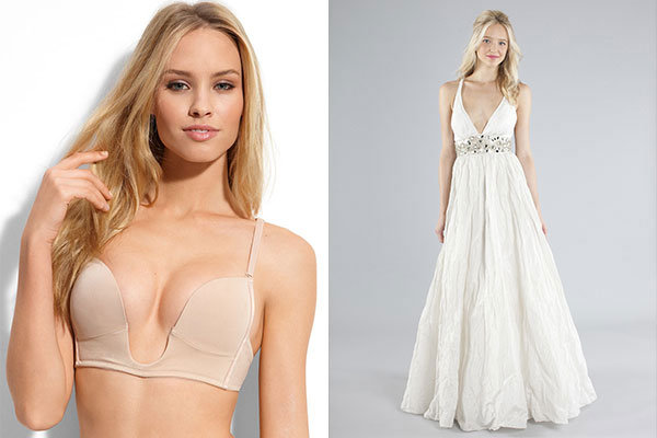 wedding dress bra