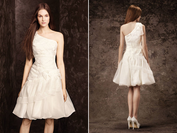 white by vera wang for davids bridal