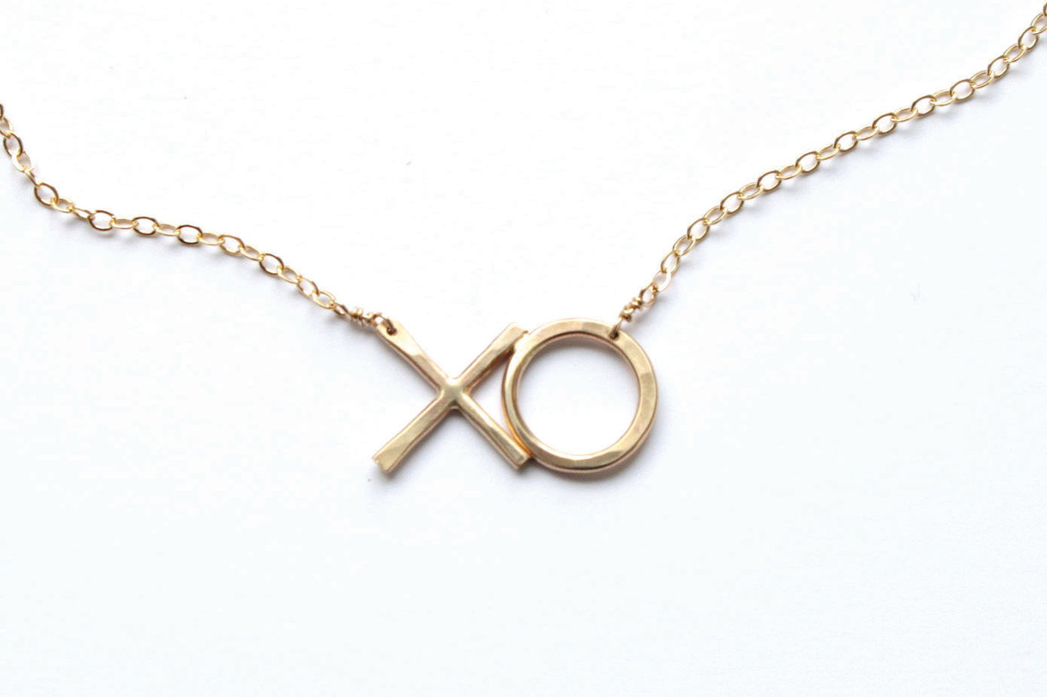jameson rae hugs and kisses necklace