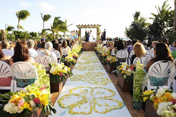 aulani resort oahu hawaii wedding
