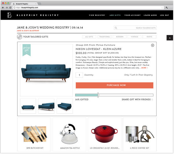 Registry news creating your own blueprint bridalguide if selecting items for the home isnt on your radar check out the experiences room where you can register for cash gifts a honeymoon fund or even ask malvernweather Image collections