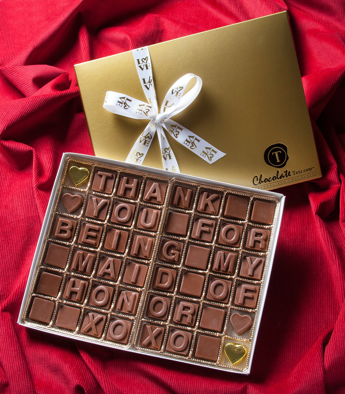 Sweet Treats: Spell It Out With Chocolate | BridalGuide