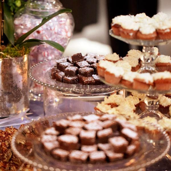 Mini Dessert Buffet: Double-Duty Treat