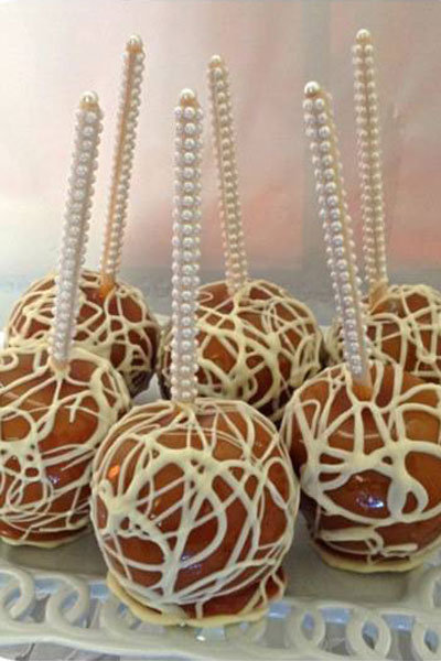 wedding candy apples