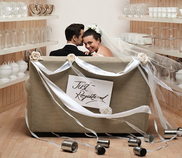 Registering For Wedding Gifts Etiquette : just registered