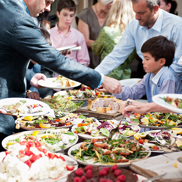 """Wedding Reception Food Buffet: """"How Many 'Special Requests' Can We Make With Our Menu"""