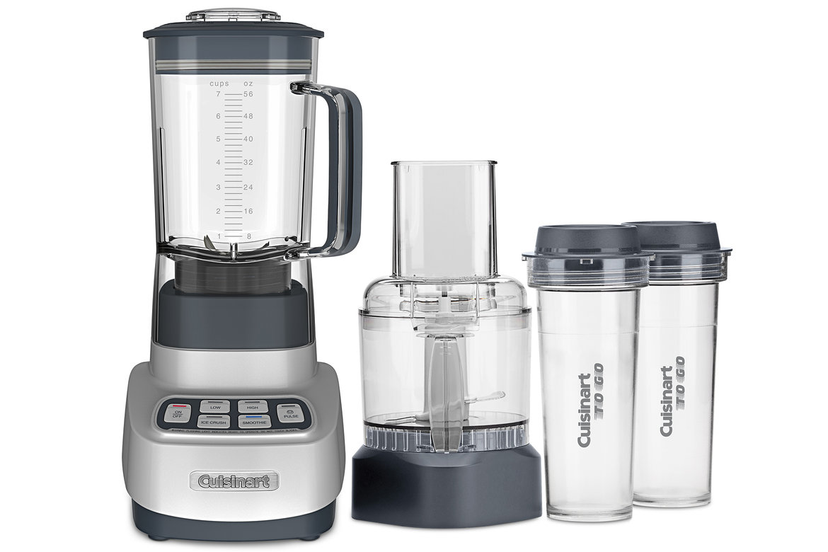 cuisinart velocity ultra trip 1 hp blender food processor with travel cups