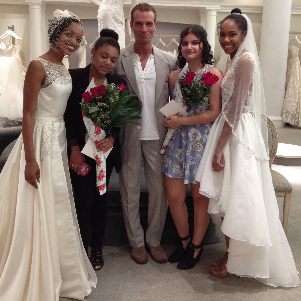 Couture Wedding Gowns Designed By High School Students