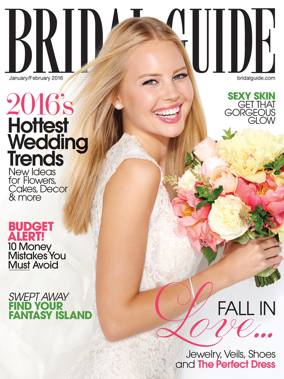 bridal guide january february 2016 cover